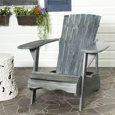 Best Wood For Outdoor Furniture Amazon Com Safavieh Patio Collection Hampton Adirondack Acacia