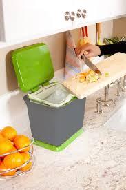 amazon com full circle fresh air odor free kitchen compost bin