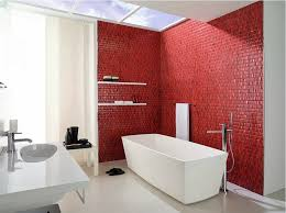 pin up bathroom decor white green colors ceramics wall red