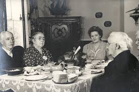 we gather together a vintage thanksgiving feast photo the