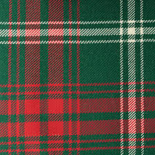 all wool tartan cloth yorkshire fabric