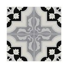 pack of 12 nador white and grey handmade cement 8x8 inch floor and