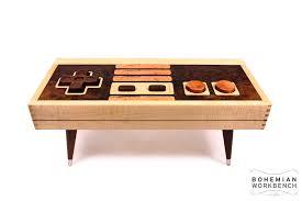 8 bit retro gaming table u2013 maple bohemian workbench
