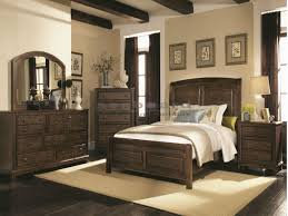 Queen Bedroom Sets Laughton Country 6 Pc Queen Bedroom 203260q6 Seaboard Bedding