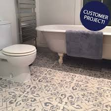 floor tile and decor vintage bathroom floor tile visionexchange co