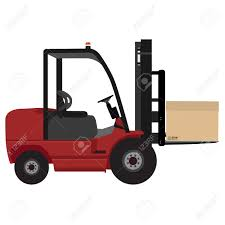 box car clipart loader car with carton box vector illustration delivery service