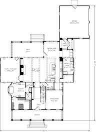 Southern Living Floorplans Champion Hill Mitchell Ginn Southern Living House Plans