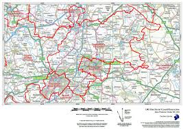 Essex County Map Paper Laminated Your Own Map Electoral Constituencies Map Gb