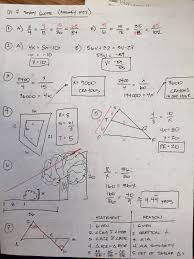 honors geometry vintage high chapter 7 practice test