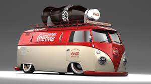 volkswagen type 6 vw type 2 panel coca cola van by darkstryder360 on deviantart