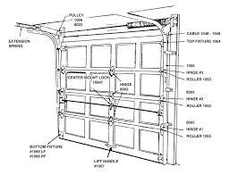 Overhead Garage Door Replacement Parts Garage Door Lock Replacement Parts Home Desain 2018