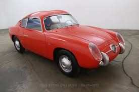 Classic Cars For Sale In Los Angeles Ca 1961 Fiat Abarth Double Bubble Beverly Hills Car Club