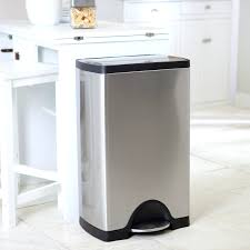 kitchen trash can ideas ritzy trash cans also wheels lowes rubbermaid trash cans