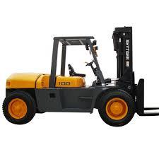 shytger low mast used 10 ton diesel forklift for sales buy