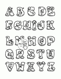 alphabet coloring page for toddlers christmas alphabet coloring