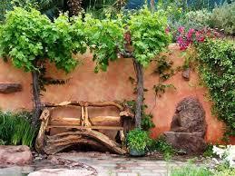 Country Garden Decor Wooden Garden Decorations New Garden Decor Wavy Edge Carbonized