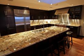 examples of granite countertops in kitchens glass door wall