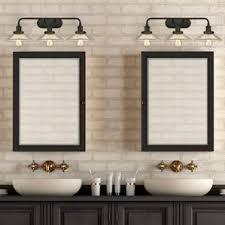 oil rubbed bronze bathroom vanity lighting you u0027ll love wayfair