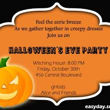 halloween party invitations for office features party dress design