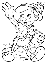 disney coloring pages pinocchio coloringstar