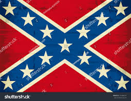 Confeserate Flag Confederate Flag Grunge Stock Vector 101088574 Shutterstock
