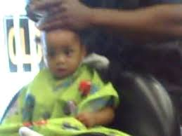 one year old hair cuts boys baby boy first hair cut one youtube