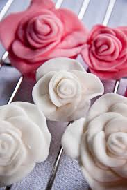 how to make fondant roses step by step fondant homemade