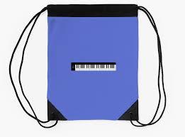 minimalist keyboard music t shirt