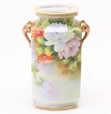 Nippon Hand Painted Vase Hand Painted Nippon Vase Ebth