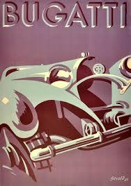 gerold hunziker large original vintage iconic art deco car