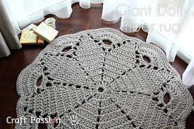 crochet rug patterns free doily rug free crochet pattern craft page 2 of 2