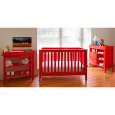 Convertible Cribs Walmart by Lolly U0026 Me Color Me 3 In 1 Convertible Crib Lollipop Red Walmart Com