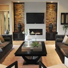 contemporary livingrooms fantastic contemporary living room designs interior stone walls