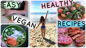 vegan lunch u0026 dinner ideas high carb low fat youtube
