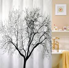 Unique Fabric Shower Curtains Stylish Unique Fabric Shower Curtains Decorating With Landscape