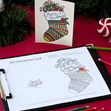 create your own christmas cards for free printable chrismast