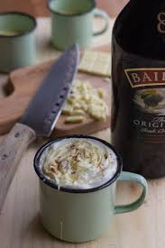 chocolate for s day baileys white hot chocolate recipe for st s day