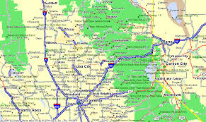 map of nevada map of nevada city
