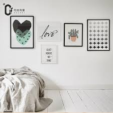 Aliexpress Home Decor Aliexpress Com Buy Collect Moments Nordic Style Canvas Painting