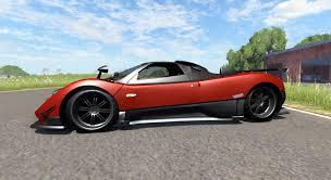 pagani suv zonda cinque roadster 2009 for beamng drive
