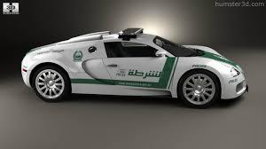 police bugatti 360 view of bugatti veyron police dubai 2014 3d model hum3d store