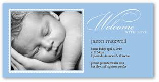 birth announcements tonal type blue 4x8 photo boy birth announcements shutterfly