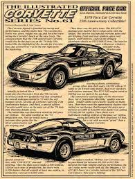 25th anniversary corvette value k teeters illustrated corvette series 1978 corvettes