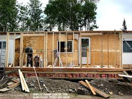 Cost Of Adding Basement To Existing House by Mobile Home Additions Guide Footers Roofing And Attachment Methods