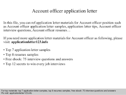 account officer application letter 1 638 jpg cb u003d1410924628