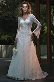 lace wedding dresses uk chapel lace v neck sleeve none a line lace wedding