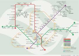 Singapore Mrt Map When Rainbow Paint The Sky With Colours Late Update