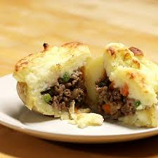 stuffed thanksgiving belly shepherd u0027s pie stuffed potatoes proper tasty pinterest