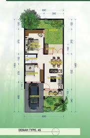 desain rumah lebar 6 meter rumah dijual rumah baru lebar 6m panjang 14m