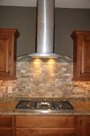 Stainless Kitchen Backsplash Best 25 Stainless Steel Vent Hood Ideas On Pinterest Stove Vent